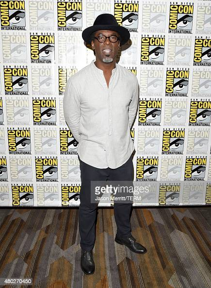 Actor Isaiah Washington attends the 'The 100' press room during ComicCon International 2015 at the Hilton Bayfront on July 10 2015 in San Diego...