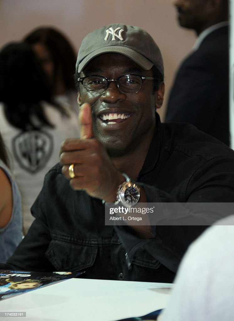 Actor Isaiah Washington during Comic-Con International at San Diego Convention Center on July 19, 2013 in San Diego, California.