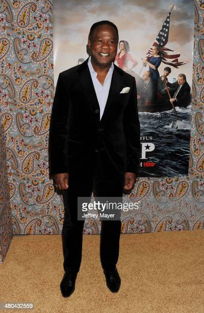 Actor Isiah Whitlock attends the premiere of HBO's 'Veep' 3rd season held at Paramount Studios on March 24 2014 in Hollywood California