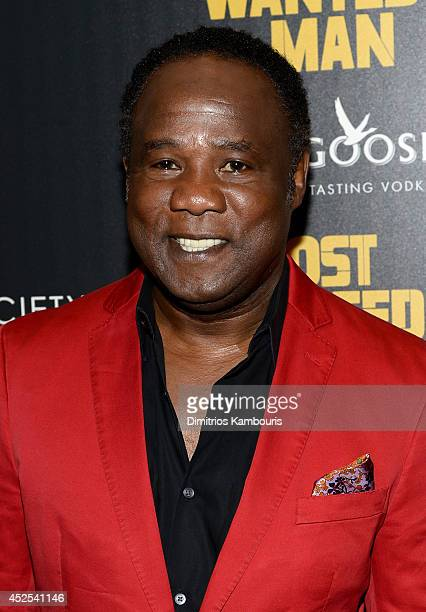 Actor Isiah Whitlock Jr attends Lionsgate and Roadside Attraction's premiere of 'A Most Wanted Man' hosted by The Cinema Society and Montblanc at the...