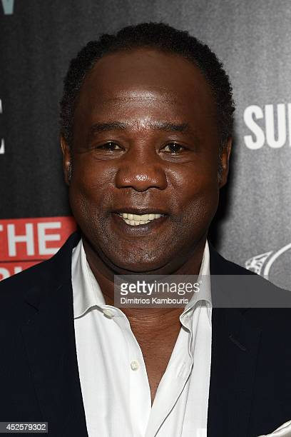 Actor Isiah Whitlock Jr attends Sundance TV's 'The Honourable Woman' screening hosted by The Cinema Society with Tod's And Elle at the Crosby Street...