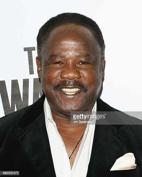 Actor Isiah Whitlock Jr attends the 53rd New York Film Festival opening night gala presentation and 'The Walk' world premiere at Alice Tully Hall at...