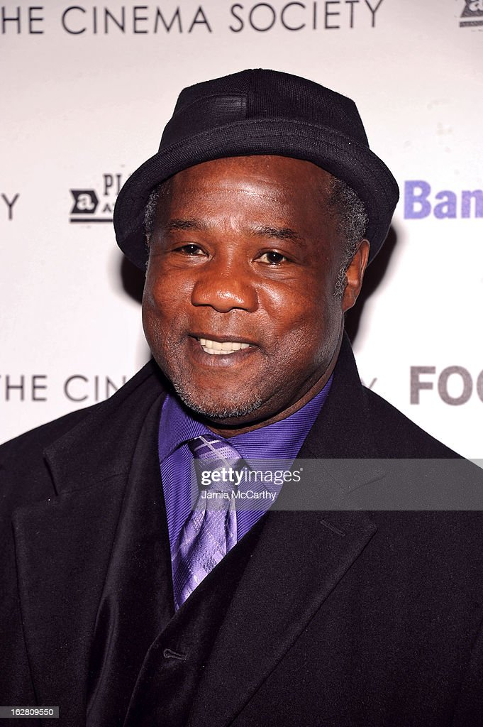 Actor <a gi-track='captionPersonalityLinkClicked' href=/galleries/search?phrase=Isiah+Whitlock+Jr.&family=editorial&specificpeople=657646 ng-click='$event.stopPropagation()'>Isiah Whitlock Jr.</a> attends the Bank of America and Food & Wine with The Cinema Society screening of 'A Place at the Table' at Museum of Modern Art on February 27, 2013 in New York City.