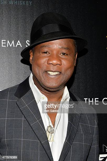 Actor Isiah Whitlock Jr attends The Cinema Society Bushmill's screening of DreamWorks Pictures' 'Need for Speed' at the Tribeca Grand Hotel on March...