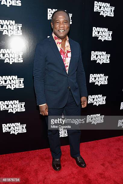 Actor Isiah Whitlock Jr attends the 'Dawn Of The Planets Of The Apes' premiere at Williamsburg Cinemas on July 8 2014 in New York City