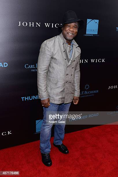 Actor Isiah Whitlock Jr attends the 'John Wick' New York Premiere at Regal Union Square Theatre Stadium 14 on October 13 2014 in New York City