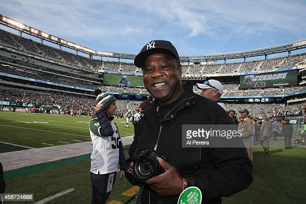 Actor Isiah Whitlock Jr attends the Pittsburgh Steelers vs New York Jets game at MetLife Stadium on November 9 2014 in East Rutherford New Jersey