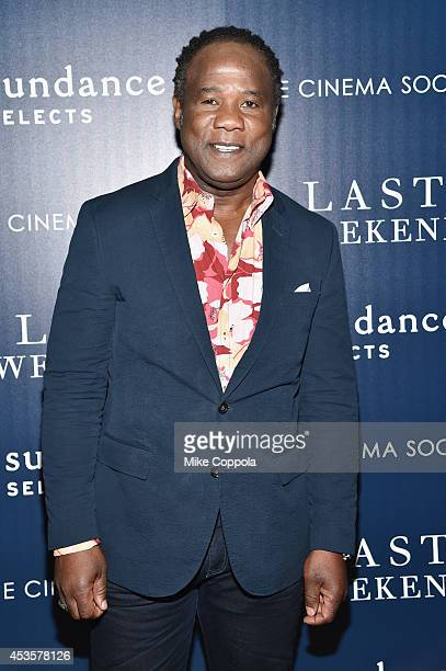 Actor Isiah Whitlock Jr attends the Sundance Selects The Cinema Society special screening of 'Last Weekend' at Tribeca Grand Hotel on August 13 2014...