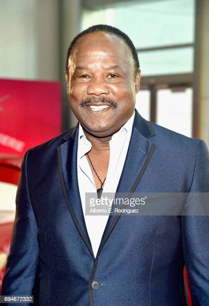 "Actor Isiah Whitlock Jr poses at the World Premiere of Disney/Pixar's ""Cars 3' at the Anaheim Convention Center on June 10 2017 in Anaheim California"