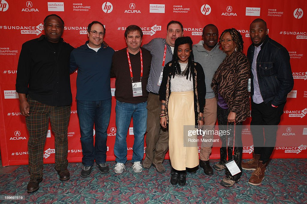 Actor <a gi-track='captionPersonalityLinkClicked' href=/galleries/search?phrase=Isiah+Whitlock+Jr.&family=editorial&specificpeople=657646 ng-click='$event.stopPropagation()'>Isiah Whitlock Jr.</a>, producer Neil Katz, executive producer Andy Sawyer, actor/producer Jim Wareck, actress Trae Harris, producer <a gi-track='captionPersonalityLinkClicked' href=/galleries/search?phrase=Gbenga+Akinnagbe&family=editorial&specificpeople=2293588 ng-click='$event.stopPropagation()'>Gbenga Akinnagbe</a>, actress <a gi-track='captionPersonalityLinkClicked' href=/galleries/search?phrase=Tonya+Pinkins&family=editorial&specificpeople=220801 ng-click='$event.stopPropagation()'>Tonya Pinkins</a> and actor <a gi-track='captionPersonalityLinkClicked' href=/galleries/search?phrase=Colman+Domingo&family=editorial&specificpeople=4946383 ng-click='$event.stopPropagation()'>Colman Domingo</a> attend the 'Newlyweeds' Premiere at Prospector Square on January 18, 2013 in Park City, Utah.