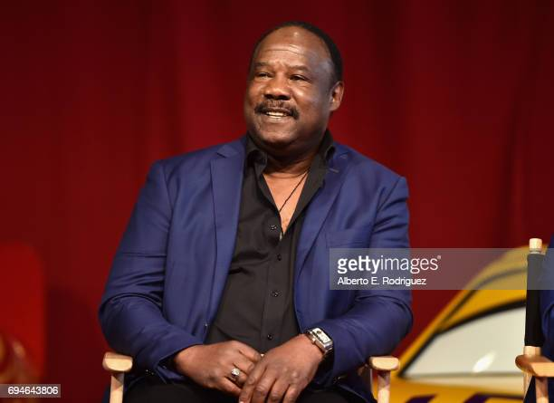 Actor Isiah Whitlock Jr speaks at the 'Cars 3' Press Conference at Anaheim Convention Center on June 10 2017 in Anaheim California