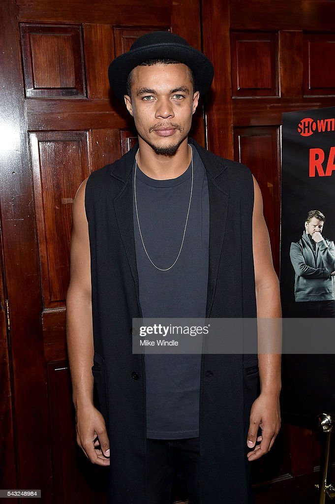 Actor Ismael Cruz Cordova attends a viewing party for Showtime's 'Ray Donovan' at O'Brien's Irish Pub on June 26, 2016 in Santa Monica, California.