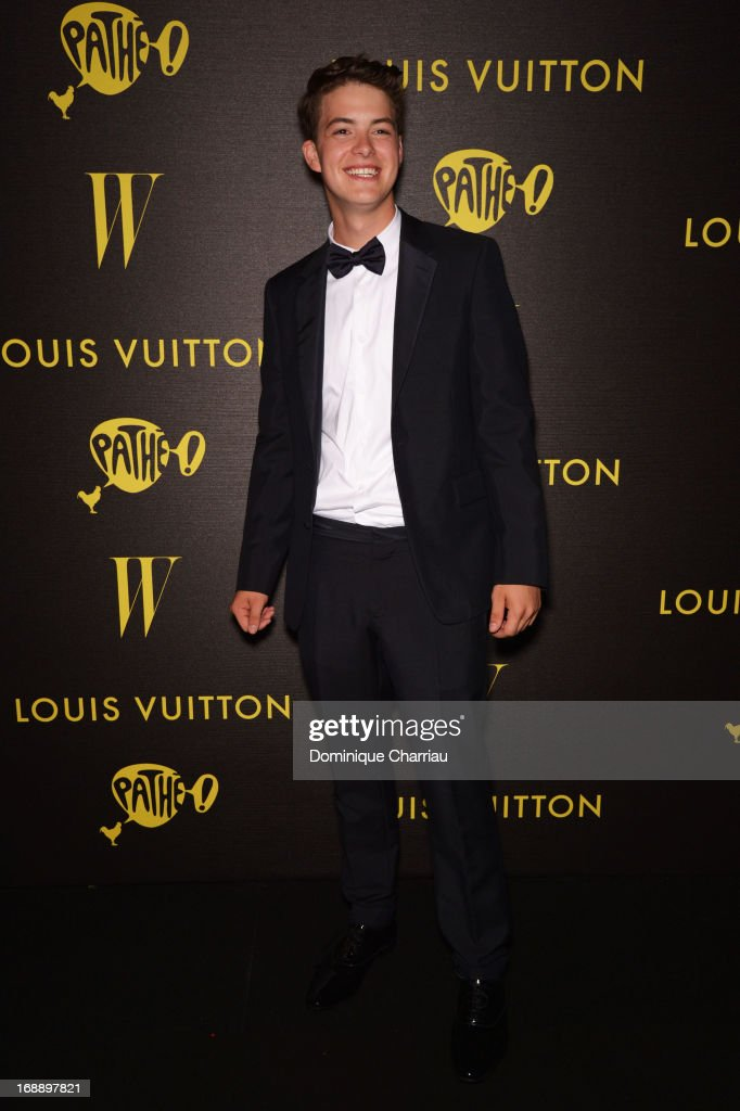 Actor Israel Broussard attends The Bling Ring Party hosted by Louis Vuitton during The 66th Annual Cannes Film Festival at Club d'Albane/JW Marriott on May 16, 2013 in Cannes, France.