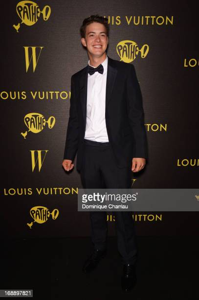 Actor Israel Broussard attends The Bling Ring Party hosted by Louis Vuitton during The 66th Annual Cannes Film Festival at Club d'Albane/JW Marriott...