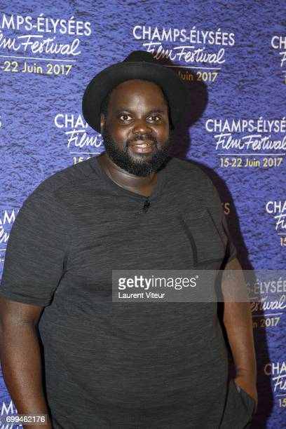 Actor Issa Doumbia attends 'La Colle' Premiere at Cinema Georges V during the 6th ChampsElysees Film Festival on June 20 2017 in Paris France