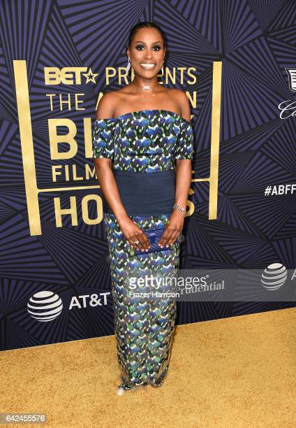Actor Issa Rae attends BET Presents the American Black Film Festival Honors on February 17 2017 in Beverly Hills California