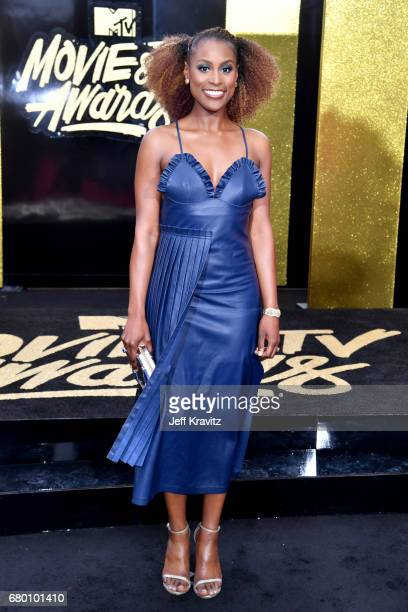 Actor Issa Rae attends the 2017 MTV Movie And TV Awards at The Shrine Auditorium on May 7 2017 in Los Angeles California