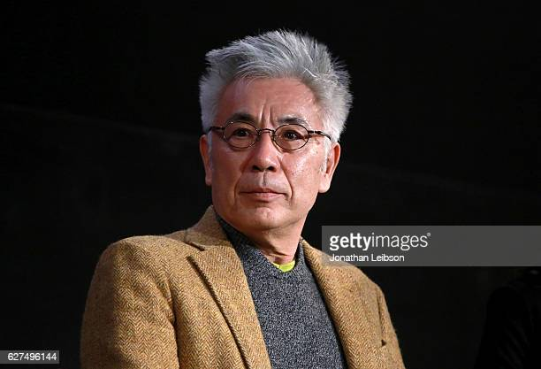 Actor Issey Ogata at the American Cinematheque conversation with Director Martin Scorsese and Producer Irwin Winkler at the Egyptian Theatre on...