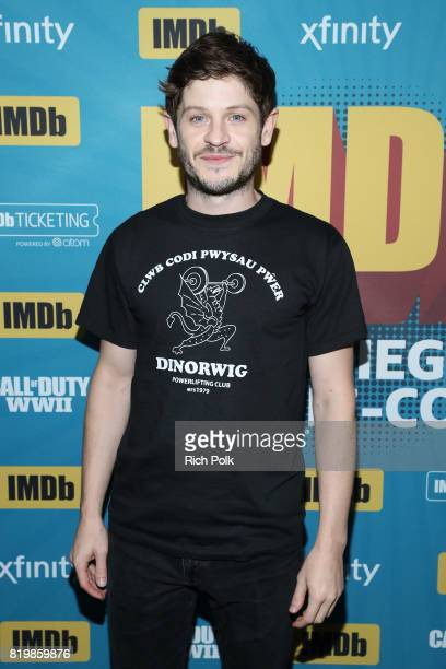 Actor Iwan Rheon at the #IMDboat At San Diego ComicCon 2017 on the IMDb Yacht on July 20 2017 in San Diego California