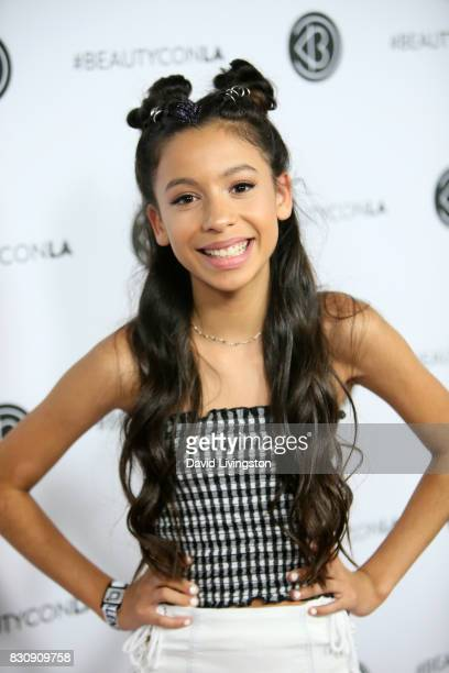 Actor Izabella Alvarez attends Day 1 of the 5th Annual Beautycon Festival Los Angeles at the Los Angeles Convention Center on August 12 2017 in Los...