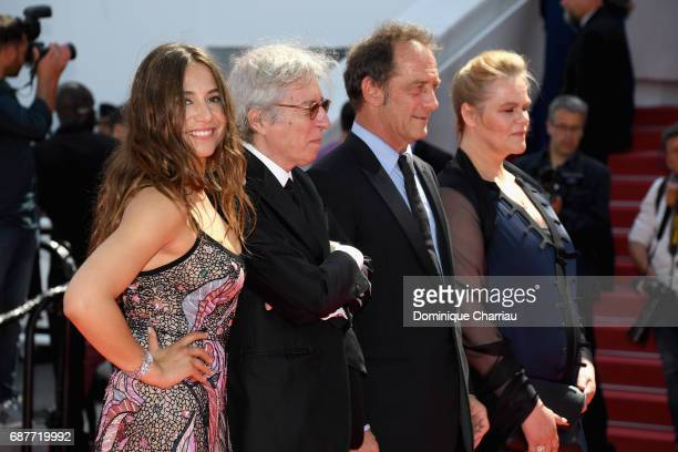 Actor Izia Higelin director Jacques Doillon and actors Vincent Lindon and Severine Caneele attend the 'Rodin' screening during the 70th annual Cannes...