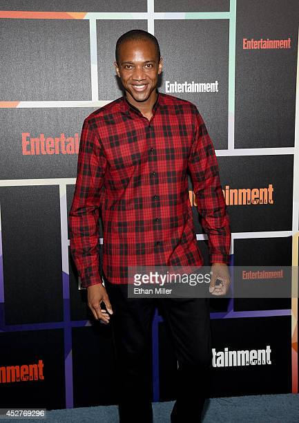 Actor J August Richards attends Entertainment Weekly's annual ComicCon celebration at Float at Hard Rock Hotel San Diego on July 26 2014 in San Diego...
