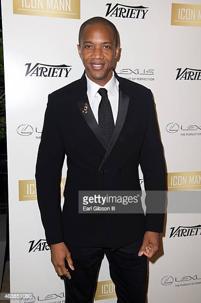 Actor J August Richards attends the 3rd Annual ICON MANN Power 50 Dinner on February 18 2015 in Beverly Hills California