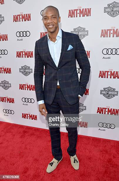 Actor J August Richards attends the world premiere of Marvel's 'AntMan' at The Dolby Theatre on June 29 2015 in Los Angeles California