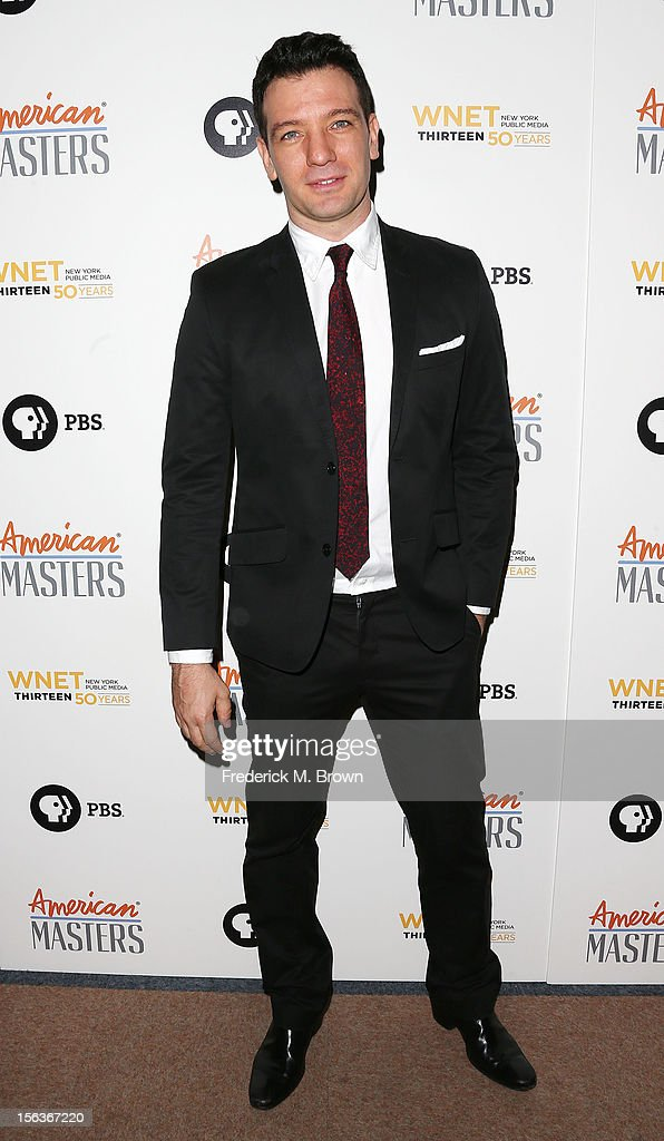 Actor J. C. Chasez attends the Premiere Of 'American Masters Inventing David Geffen' at The Writers Guild of America on November 13, 2012 in Beverly Hills, California.