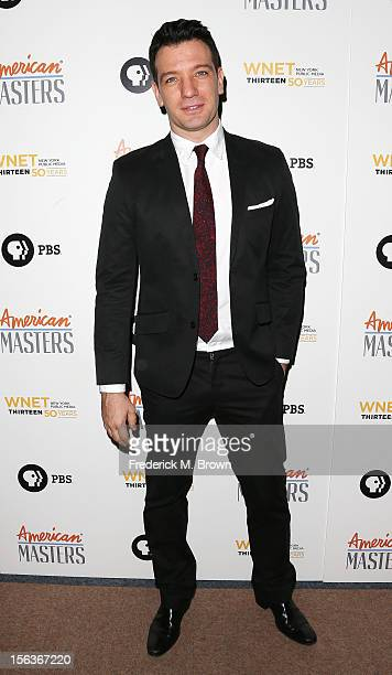 Actor J C Chasez attends the Premiere Of 'American Masters Inventing David Geffen' at The Writers Guild of America on November 13 2012 in Beverly...