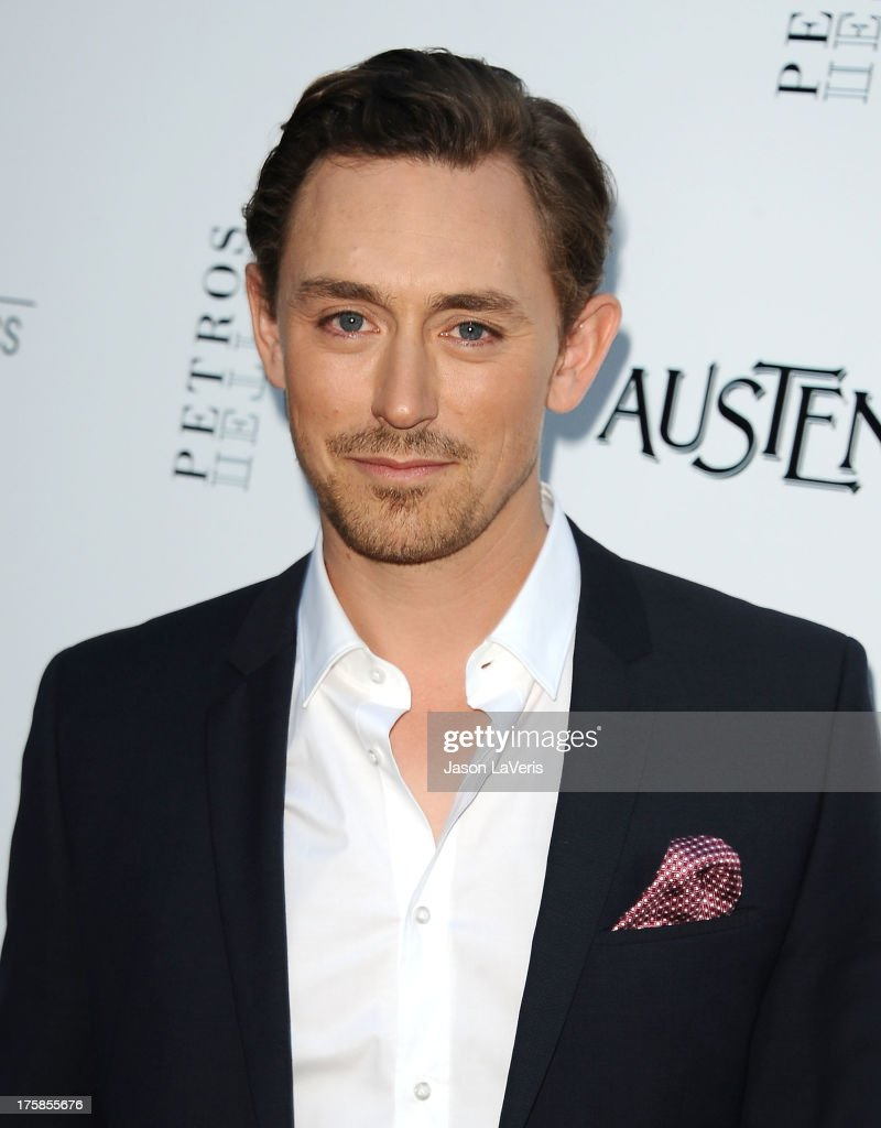 Actor J. J. Feild attends the premiere of 'Austenland' at ArcLight Hollywood on August 8, 2013 in Hollywood, California.
