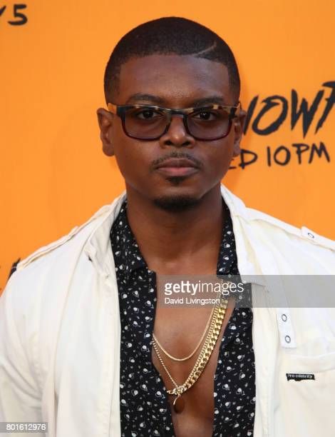 Actor J Mallory McCree attends the premiere of FX's 'Snowfall' at The Theatre at Ace Hotel on June 26 2017 in Los Angeles California