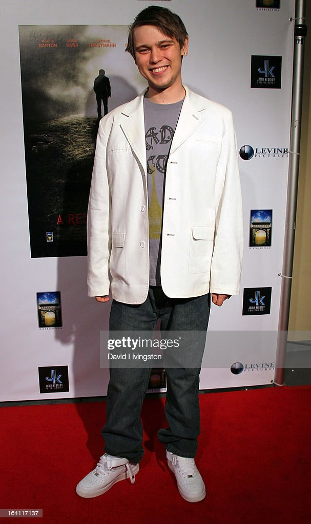 Actor J. Michael Trautmann attends the premiere of 'A Resurrection' at ArcLight Sherman Oaks on March 19, 2013 in Sherman Oaks, California.