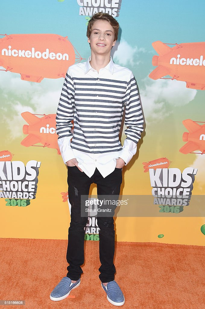 Actor Jace Norman attends Nickelodeon's 2016 Kids' Choice Awards at The Forum on March 12, 2016 in Inglewood, California.
