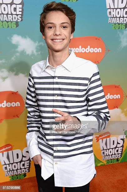 Actor Jace Norman attends Nickelodeon's 2016 Kids' Choice Awards at The Forum on March 12 2016 in Inglewood California
