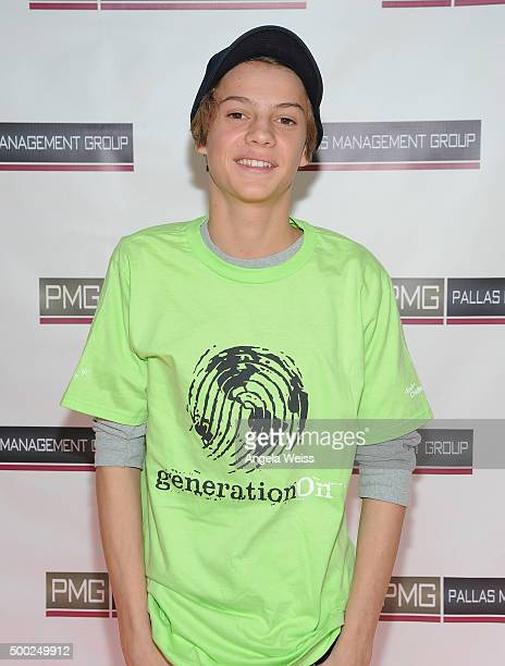 Actor Jace Norman attends the 3rd Annual Toy Wrap Party benefiting GenerationOn hosted by PMG Talent and Dylan Sprayberry at Guy's North on December...
