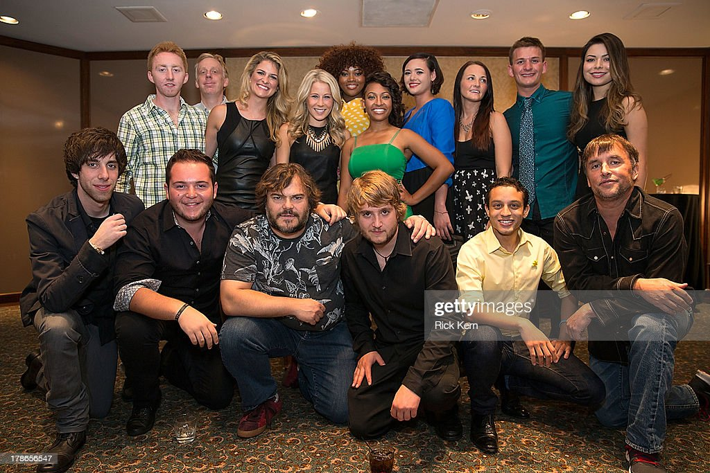 Actor <a gi-track='captionPersonalityLinkClicked' href=/galleries/search?phrase=Jack+Black&family=editorial&specificpeople=171453 ng-click='$event.stopPropagation()'>Jack Black</a> and other cast members attend the School Of Rock 10-Year cast reception at Omni Downtown on August 29, 2013 in Austin, Texas.