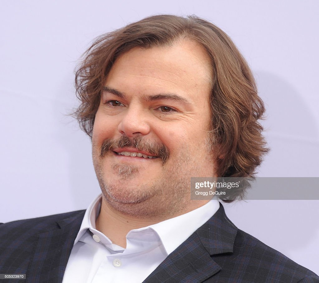 Actor Jack Black arrives at the premiere of 20th Century Fox's 'Kung Fu Panda 3' at TCL Chinese Theatre on January 16, 2016 in Hollywood, California.