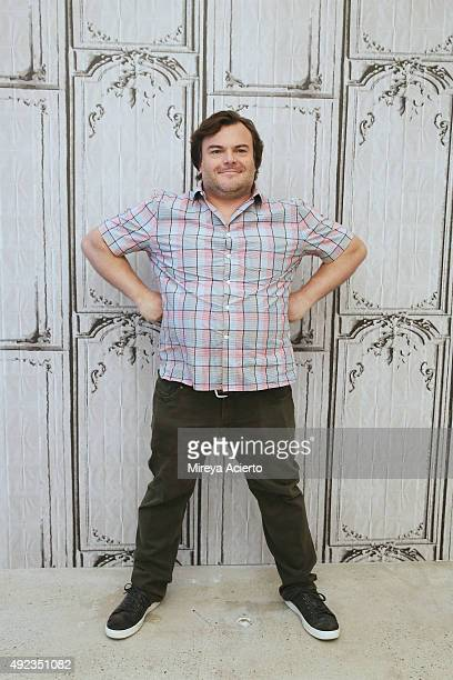 Actor Jack Black attends AOL Build Presents 'Goosebumps' at AOL Studios In New York on October 12 2015 in New York City