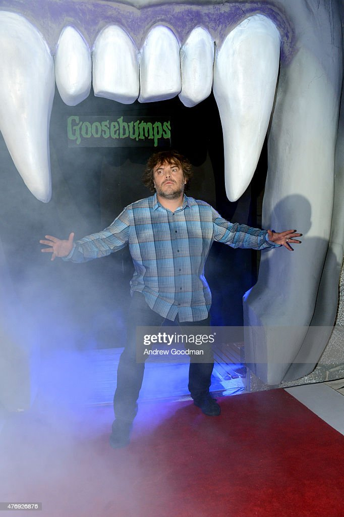 Actor Jack Black attends 'Goosebumps' photo call during Summer Of Sony Pictures Entertainment 2015 at The Ritz-Carlton Cancun on June 12, 2015 in Cancun, Mexico. #SummerOfSonyPictures #GoosebumpsMovie