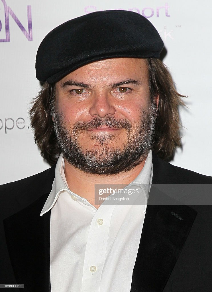 Actor Jack Black attends the 14th Annual RSN's Renal Teen Prom at Notre Dame High School on January 20, 2013 in Sherman Oaks, California.