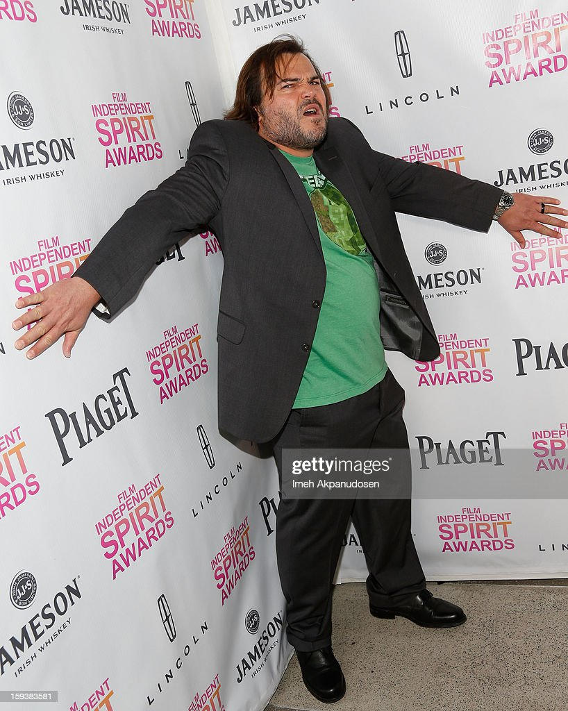 Actor Jack Black attends the 2013 Film Independent Filmmaker Grant And Spirit Award Nominees Brunch at BOA Steakhouse on January 12, 2013 in West Hollywood, California.