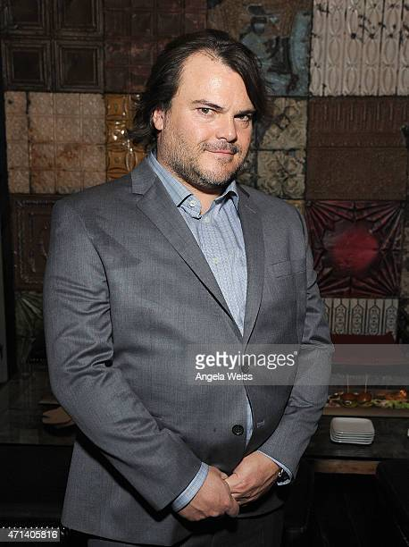 Actor Jack Black attends the after party for the premiere of IFC Films' 'THE D TRAIN' presented by Banana Boat at Saint Felix II on April 27 2015 in...