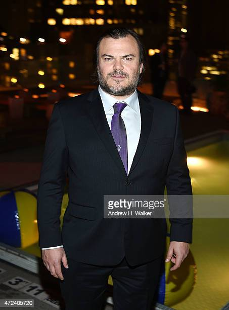 Actor Jack Black attends the after party IFC's 'The D Train' New York premiere hosted by The Cinema Society and Banana Boat at The Jimmy at the James...