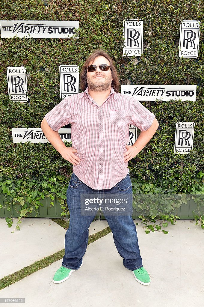 Actor Jack Black attends The Variety Studio: Awards Edition held at a private residence on November 28, 2012 in Los Angeles, California.