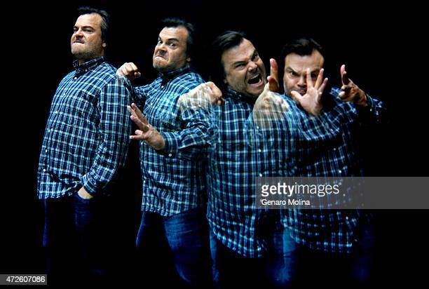 Actor Jack Black is photographed for Los Angeles Times on April 24 2015 in Beverly Hills California PUBLISHED IMAGE CREDIT MUST READ Genaro...