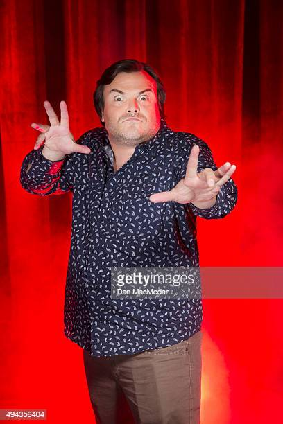 Actor Jack Black is photographed for USA Today on October 14 2015 in Los Angeles California PUBLISHED IMAGE