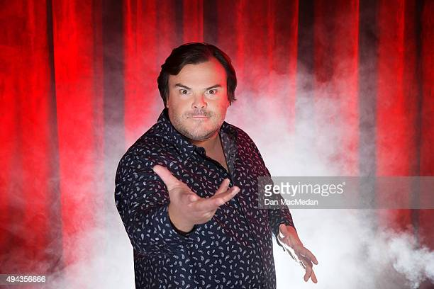Actor Jack Black is photographed for USA Today on October 14 2015 in Los Angeles California