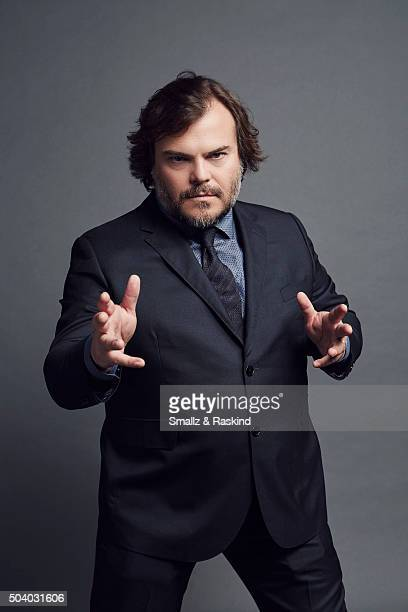 Actor Jack Black poses for a portrait at the 2016 People's Choice Awards at the Microsoft Theater on January 6 2016 in Los Angeles California