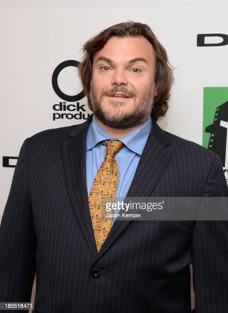 Actor Jack Black poses in the press room during the 17th annual Hollywood Film Awards at The Beverly Hilton Hotel on October 21 2013 in Beverly Hills...